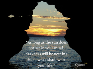 sunset quotes short