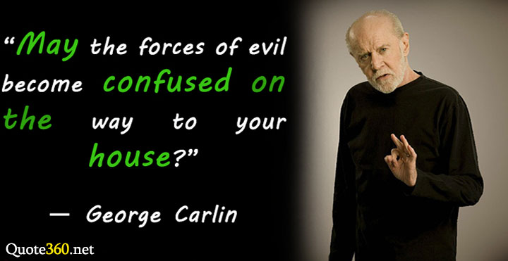george carlin quotes about work