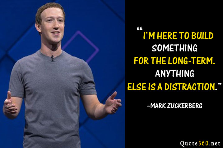 mark zuckerberg quotes about life